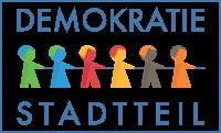 Logo des Projektes Demokratie im Stadtteil