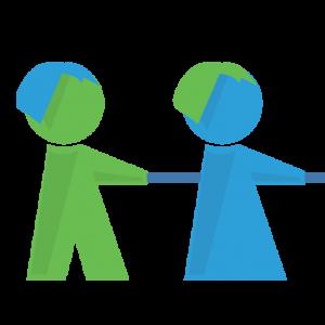 Ausschnitt Logo Demokratieförderung