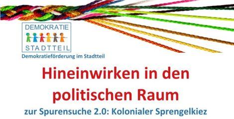 AG-Treffen: Hineinwirken in den politischen Raum