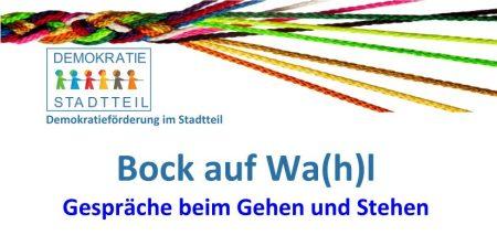 Kiezspaziergang: Bock auf Wa(h)l am 22.09.